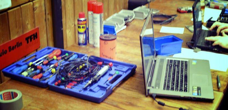 Technik studieren und reparieren!