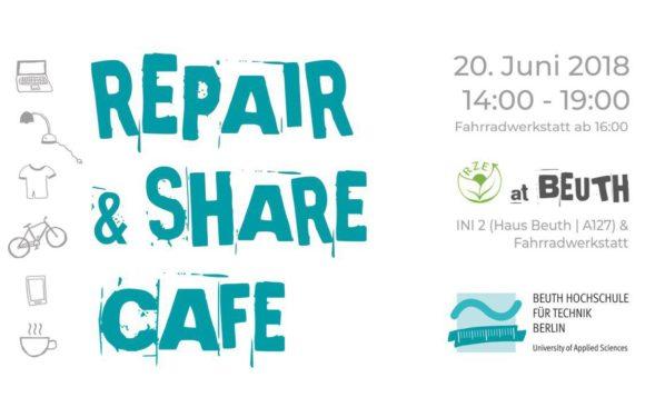 Repair & Share Café: Tonne kannste knicken!