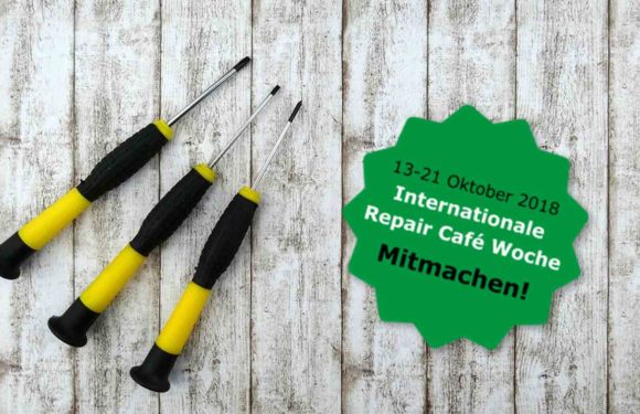 Pro DIY: International Repair Café Week