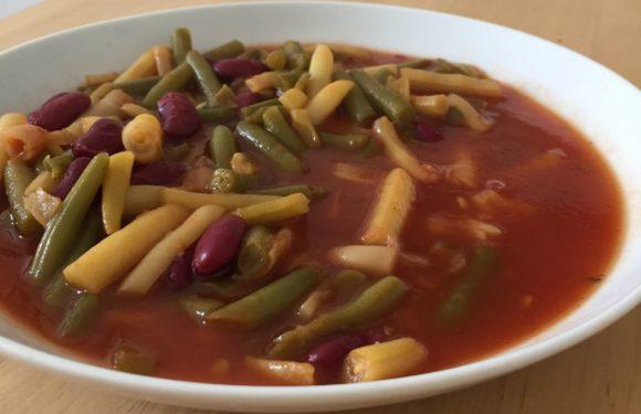 Rezept für Studierende: Bohnensuppe