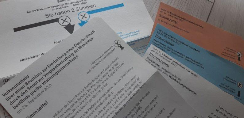 JA zum Volksentscheid, kritisch links wählen!